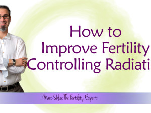 How to Improve Fertility Controlling Radiation