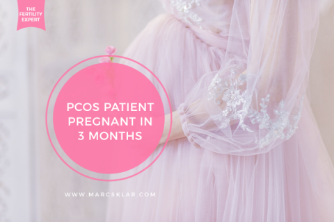 PCOS Patient Pregnant in 3 Months
