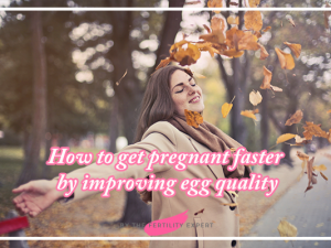 How to get pregnant faster by improving egg quality